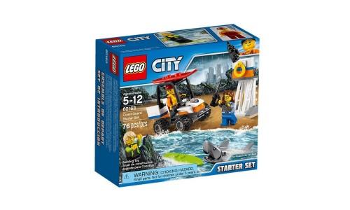 Конструктор LEGO City Coast Guard 60163 Набор «Береговая охрана»