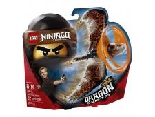 Конструктор LEGO Ninjago Мастер дракона Коул - 70645
