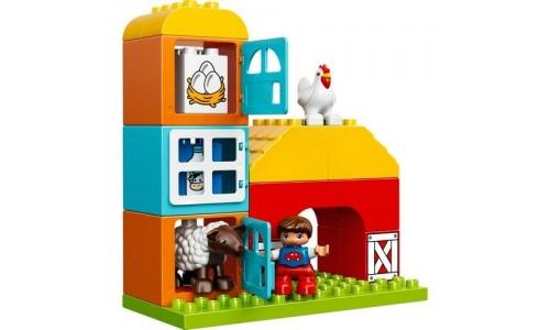 LEGO DUPLO 10617 «Моя первая ферма»