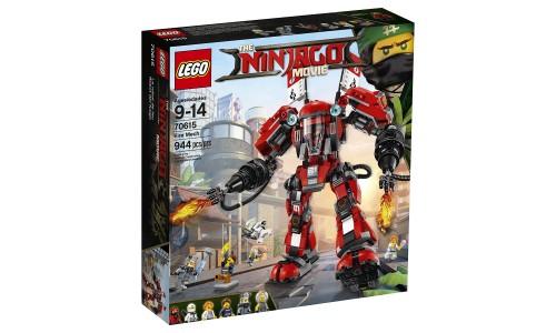 Конструктор LEGO Ninjago 70615 Огненный робот