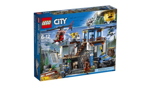 Конструктор LEGO City Полицейский участок в горах