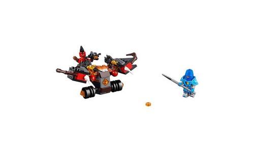 Конструктор LEGO Nexo Knights 70318 Шаровая ракета