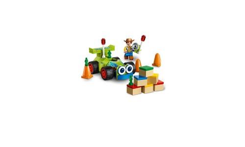 Конструктор LEGO Juniors История игрушек-4: Вуди на машине