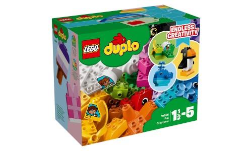 Конструктор LEGO DUPLO Весёлые кубики