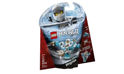 Конструктор LEGO Ninjago «Зейн: мастер Кружитцу»