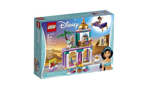 Конструктор LEGO Princess Disney «Приключения Аладдина и Жасмин во дворце»