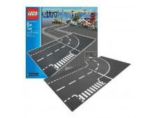 LEGO City 7281 Т-образный перекрёсток и поворот - 7281