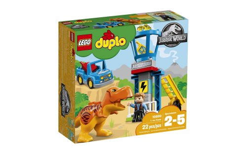 Конструктор LEGO DUPLO Jurassic World Башня Ти-Рекса