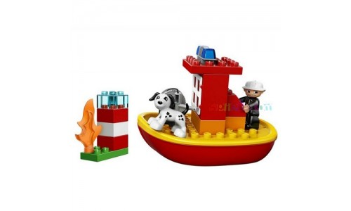 LEGO DUPLO 10591 «Пожарная лодка»