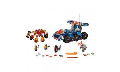 Конструктор LEGO Nexo Knights 70322 Башенный тягач Акселя