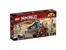 Конструктор LEGO Ninjago «Мотоцикл-клинок Кая и снегоход Зейна» - 70667
