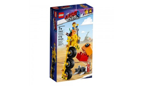 Конструктор LEGO Movie 2: Трехколёсный велосипед Эммета!