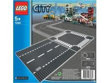 LEGO City 7280 Прямая дорога и перекрёсток - 7280