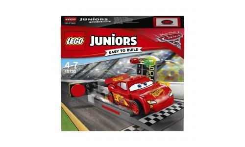 Конструктор LEGO Juniors 10730 Устройство для запуска Молнии МакКуина