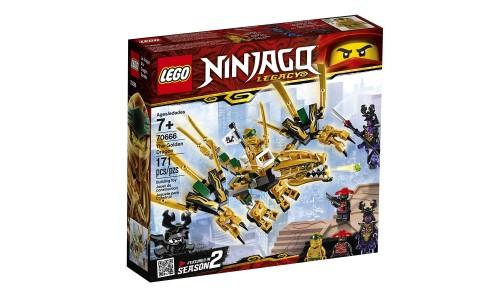 Конструктор LEGO Ninjago «Золотой Дракон»