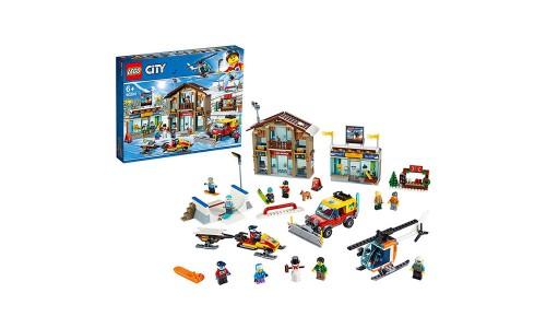 Конструктор LEGO City Горнолыжный курорт