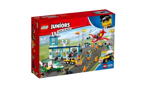 Конструктор LEGO Juniors Городской аэропорт