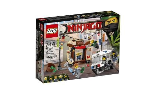 Конструктор LEGO Ninjago 70607 Ограбление киоска в НИНДЗЯГО Сити