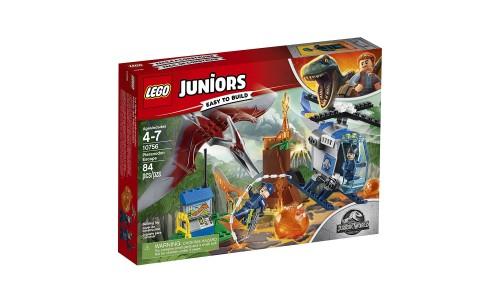 Конструктор LEGO Juniors  Jurassic World Побег птеранодона