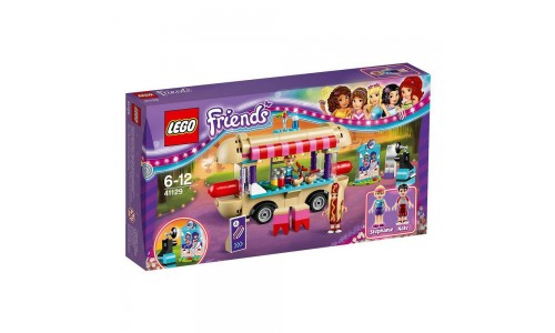 Конструктор LEGO Friends 41129 Парк развлечений: фургон с хот-догами