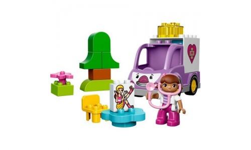 LEGO DUPLO 10605 «Скорая помощь Доктора Плюшевой»