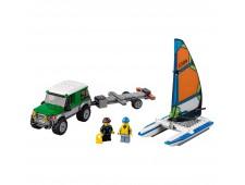 Конструктор LEGO City 60149 Внедорожник с прицепом для катамарана - 60149