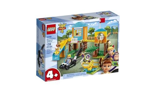 Конструктор LEGO Juniors История игрушек-4: Приключения Базза и Бо Пип на детской площадке