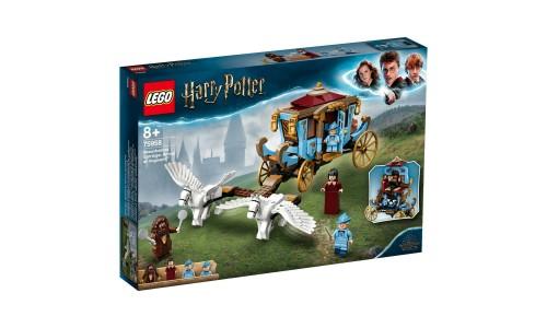 Конструктор LEGO Harry Potter Карета школы Шармбатон: приезд в Хогвартс