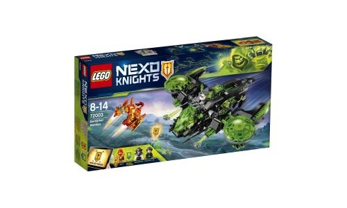 Конструктор LEGO Нексо Неистовый бомбардировщик