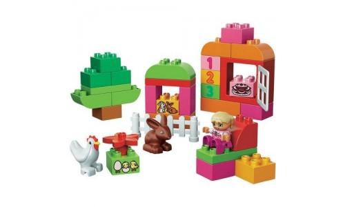 LEGO DUPLO 10571 «Лучшие друзья: курочка и кролик»