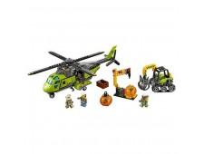 Конструктор LEGO City 60123 Грузовой вертолет исследователей вулканов - 60123