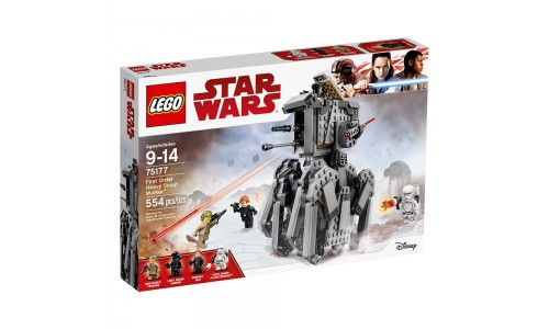 Конструктор LEGO Star Wars 75177 Тяжелый разведывательный шагоход Первого Ордена
