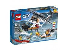 Конструктор LEGO City Coast Guard 60166 Сверхмощный спасательный вертолёт - 60166