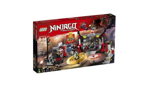 Конструктор LEGO Ниндзяго Штаб-квартира Сынов Гармадона