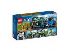 Конструктор LEGO City Транспорт: Транспортировщик для комбайнов - 60223