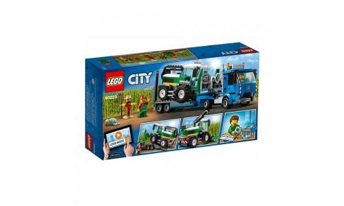 Конструктор LEGO City Транспорт: Транспортировщик для комбайнов