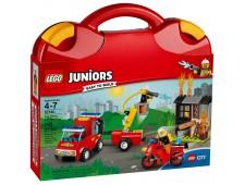 Конструктор LEGO Juniors 10740 Чемоданчик «Пожарная команда» - 10740