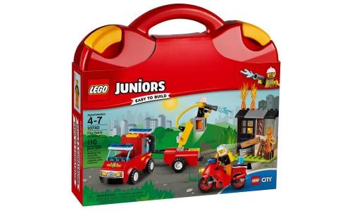 Конструктор LEGO Juniors 10740 Чемоданчик «Пожарная команда»