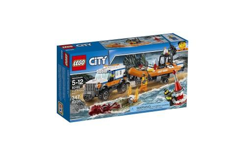 Конструктор LEGO City Coast Guard 60165 Внедорожник 4х4 команды быстрого реагирования