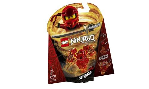 Конструктор LEGO Ninjago «Кай: мастер Кружитцу»