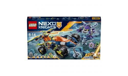 Конструктор LEGO NEXO Knights Вездеход Аарона 4x4 70355