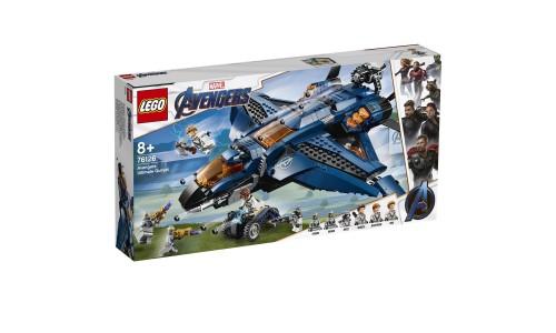 Конструктор LEGO Super Heroes Модернизированный квинджет Мстителей