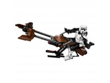 Конструктор LEGO Star Wars 75532 Штурмовик-разведчик на спидере - 75532