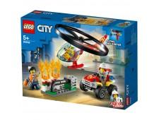 Конструктор LEGO City пожарный спасательный вертолёт - 60248