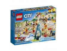 Конструктор LEGO CITY City Town 60153 Отдых на пляже - жители  - 60153