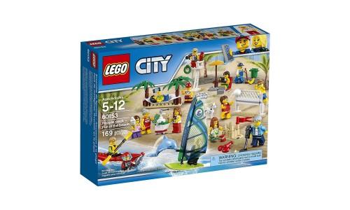 Конструктор LEGO CITY City Town 60153 Отдых на пляже - жители