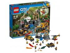 Конструктор LEGO City Jungle Explorer 60161 База исследователей джунглей - 60161