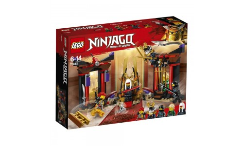 Конструктор LEGO NINJAGO Решающий бой в тронном зале