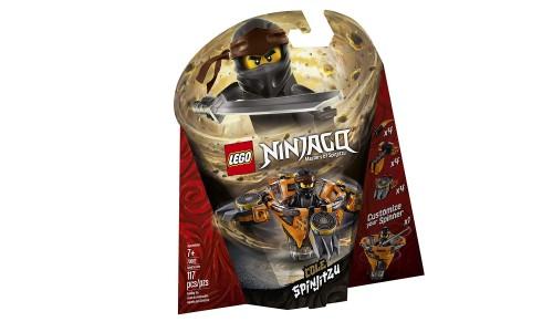 Конструктор LEGO Ninjago «Коул: мастер Кружитцу»