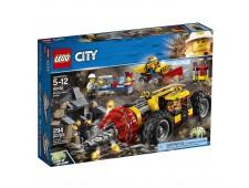 Конструктор LEGO Город Тяжелый бур для горных работ - 60186